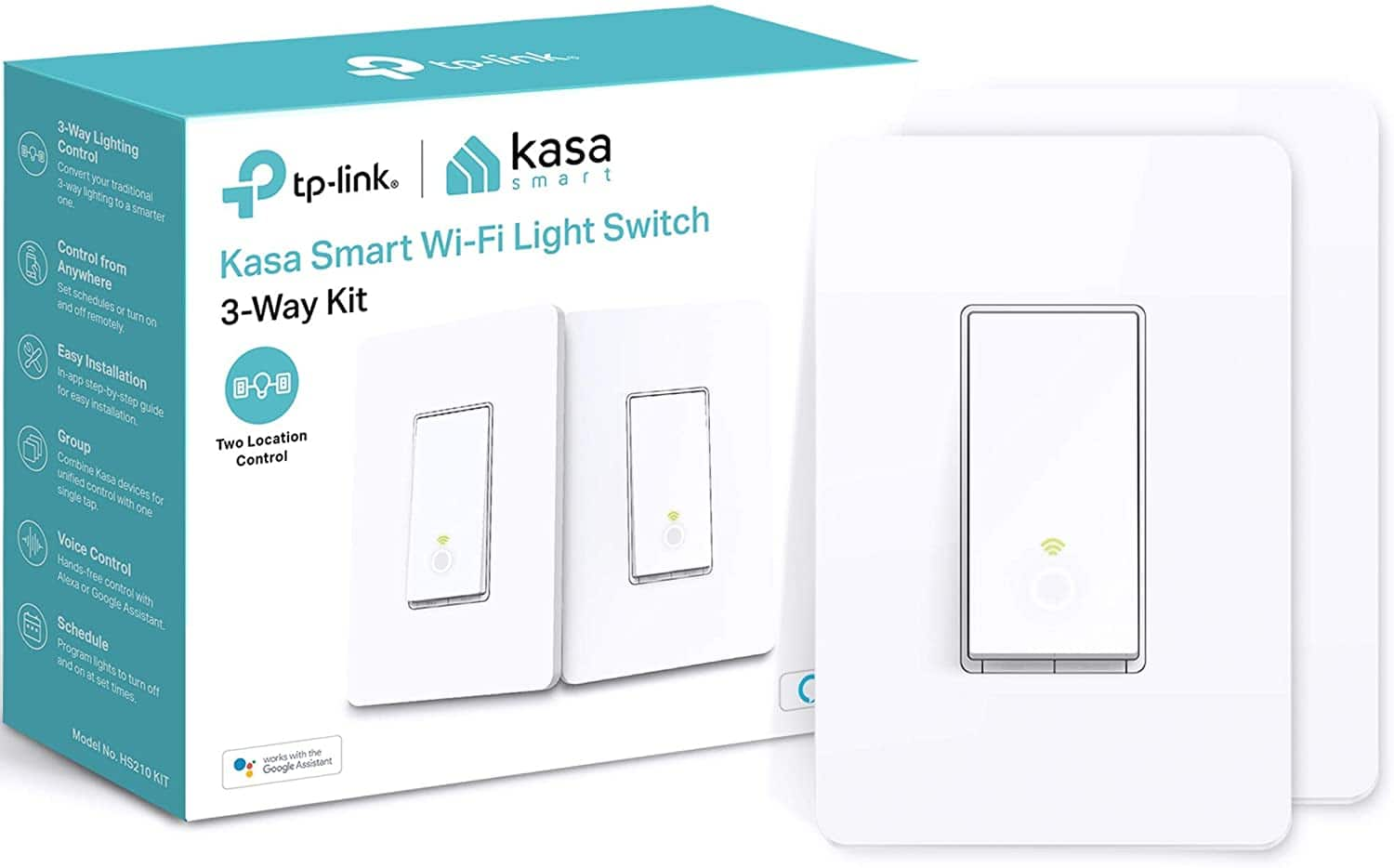 Kasa 3 Way Smart Switch 2 pack $34.99 - record low price