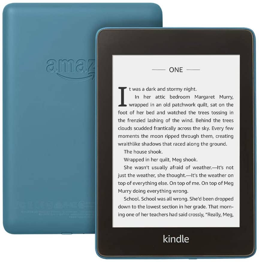 Kindle Paperwhite, 8GB $104.99 or 32GB $129.99 at Amazon – Now Waterproof with more than 2x the Storage – Includes Special Offers