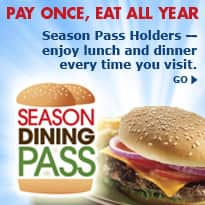 Six Flags Unlimited Season Meal Plan $69.99