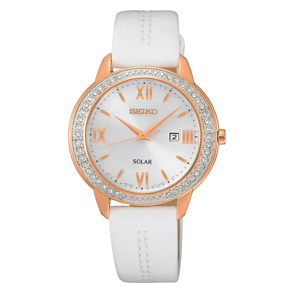 Seiko Ladies Recraft Crystal Solar Watch Model # SUT248: $87.50 (nearly 60-70% off): at Sears. OTHER WATCHES ON SALE as well