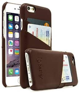iPhone 6/iPhone 6 Plus / 6s Plus Case Leather Slim Fit Snap On Executive Wallet Card Case:  $2.99 AC + FSSS