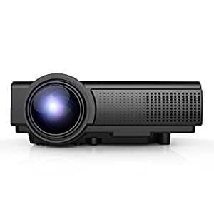 TENKER Q5 projector $54.99 AC + free shipping  @amazon