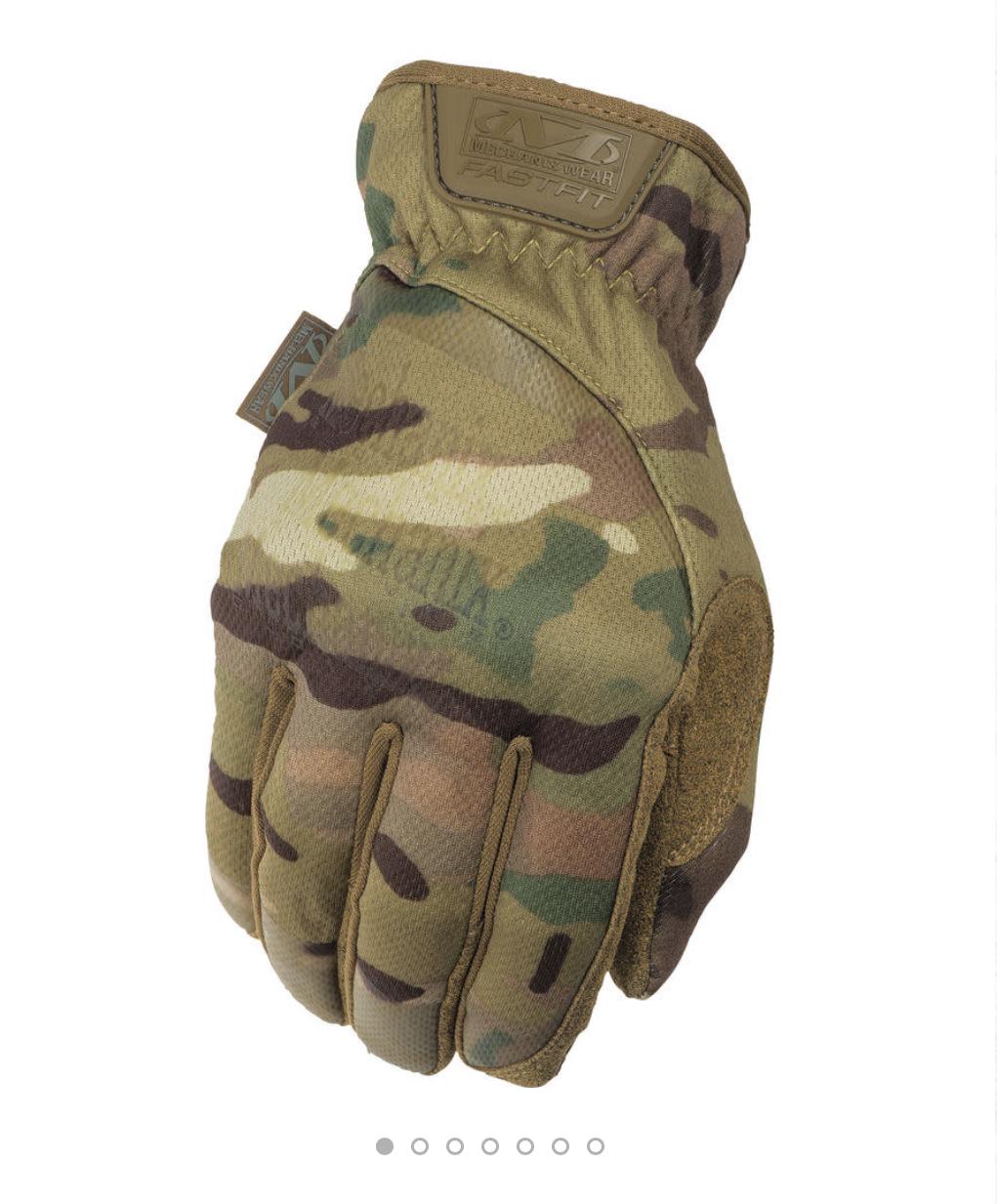 Mechanix Wear MultiCam Fast Fit Tactical Gloves (Large & X-Large) + Free Mechanix Wear MultiCam Face Mask for $11.24