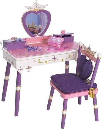 Wildkin Princess Vanity Table & Chair Set $94.49