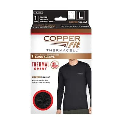 Copper Fit Copper Fit Thermacell Heated Long Sleeve Shirt-Large in the Thermals - YMMV $4.99