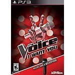 The Voice - I Want You Playstation 3 (PS3) game $6.77 new at Amazon