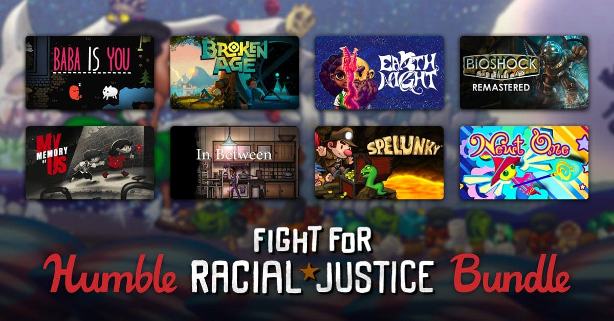 Humble Bundle: Fight for Racial Justice Bundle - $30 for 50 Steam games plus some eBooks