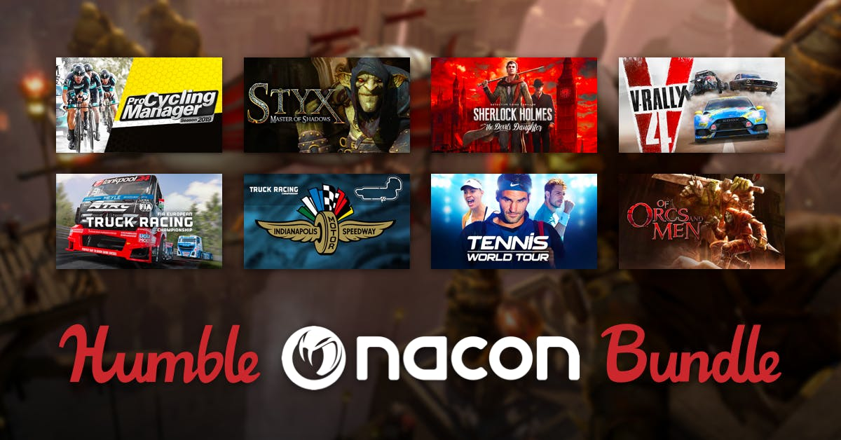 Humble Bundle - Nacon Publisher - Outcast Second Contact, 2 Dark, Aarklash Legacy for $1, Styx, Sherlock Holmes Devil's Daughter, and more for BTA