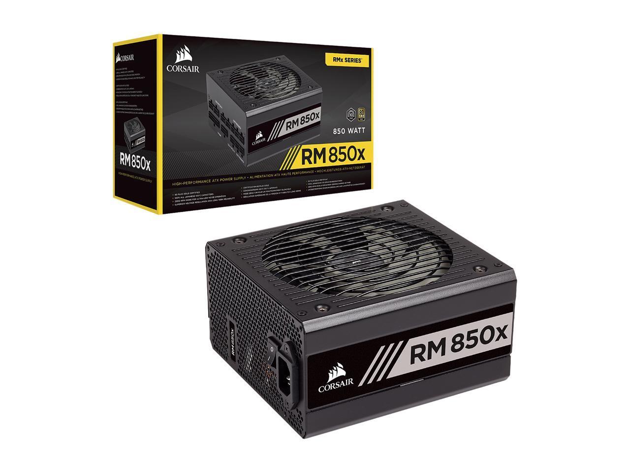 CORSAIR RMx Series RM850x CP-9020180-NA 850W $119.99 + Shipping