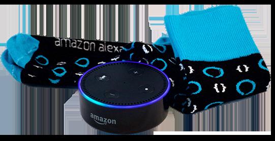 Free Echo Dot - Publish an Alexa Skill in JULY to receive a free Echo Dot + Pair of socks