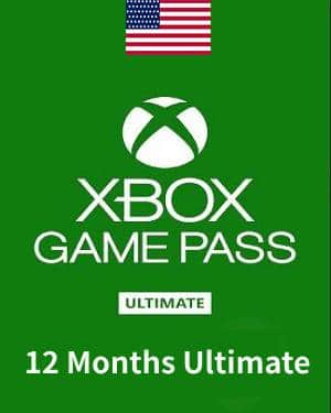 Xbox Game Pass Ultimate 12 Months PC/Xbox live Key UNITED STATES $48.49