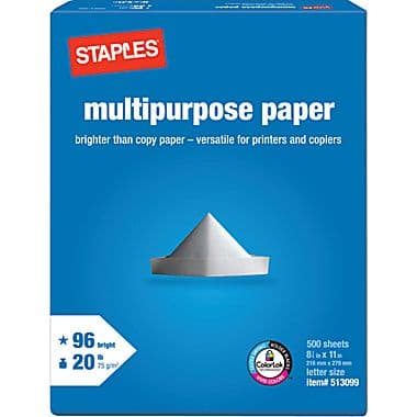 Free Shipping Box, 1¢ Staples Ream after Rebate with coupon, 5/30 Q and Weekly Ad 11/9  - 11/15/14