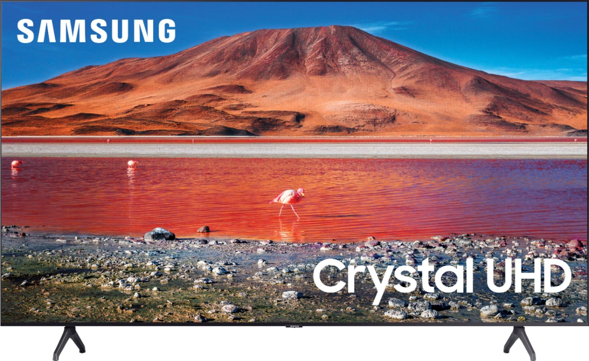 "Samsung 70"" Class 7 Series LED 4K UHD Smart Tizen TV UN70TU7000BXZA - Best Buy $699.99"