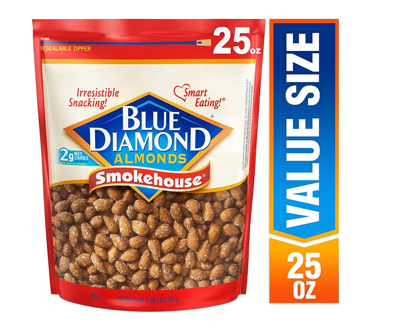 Blue Diamond Almonds, Smokehouse, 25 Ounce $8.15