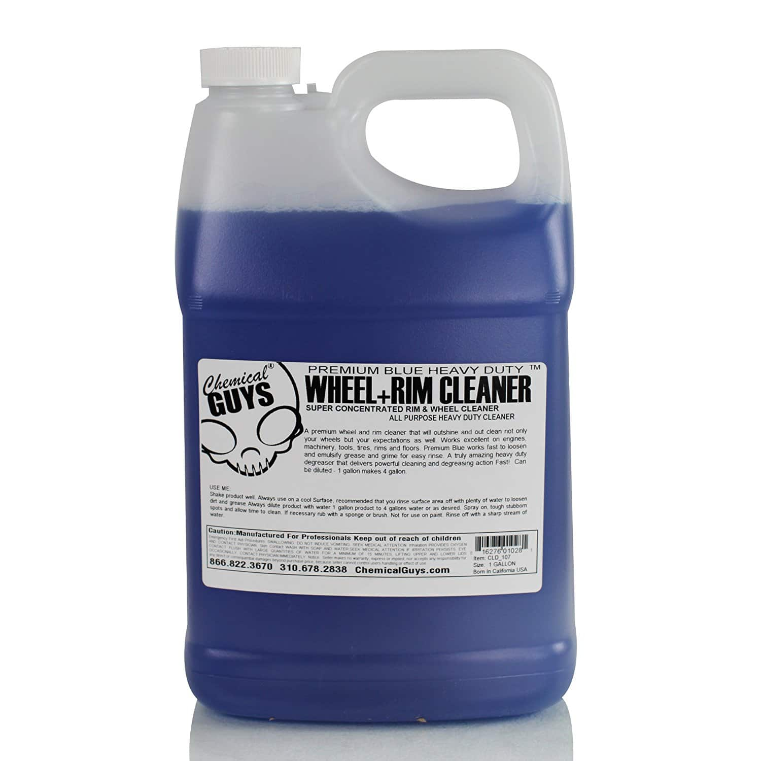 Chemical Guys Premium Blue Wheel and Rim Cleaner 1 gallon as low as $12.34