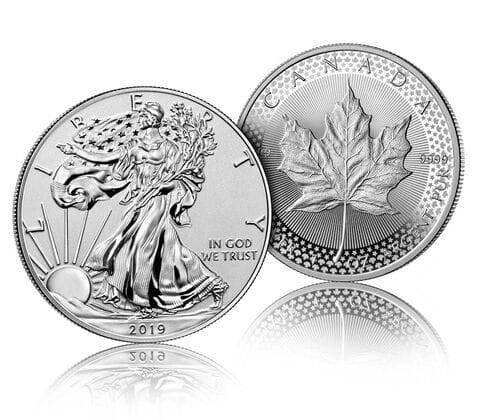 Pride of Two Nations 2019 Limited Edition Two-Coin Set $139