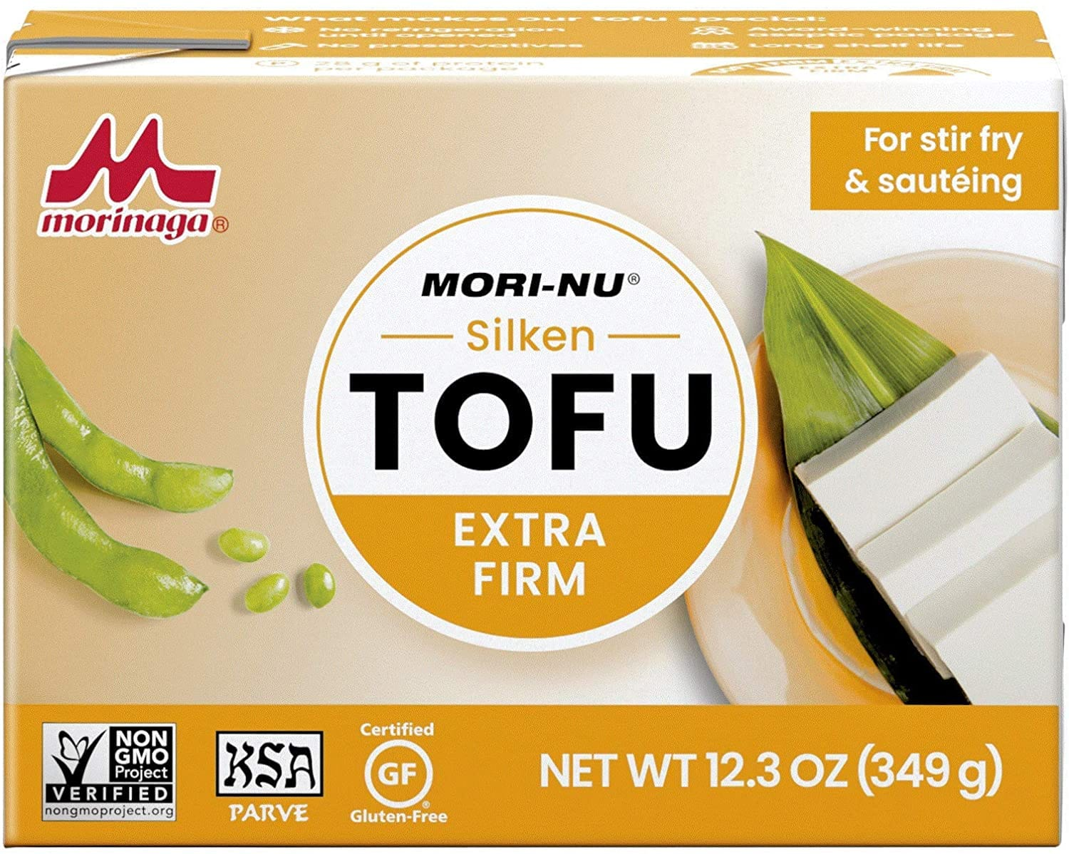 Mori-Nu Silken Extra Firm Tofu 12.3oz x 12 Pack for $14.02 (or less with S&S) at Amazon