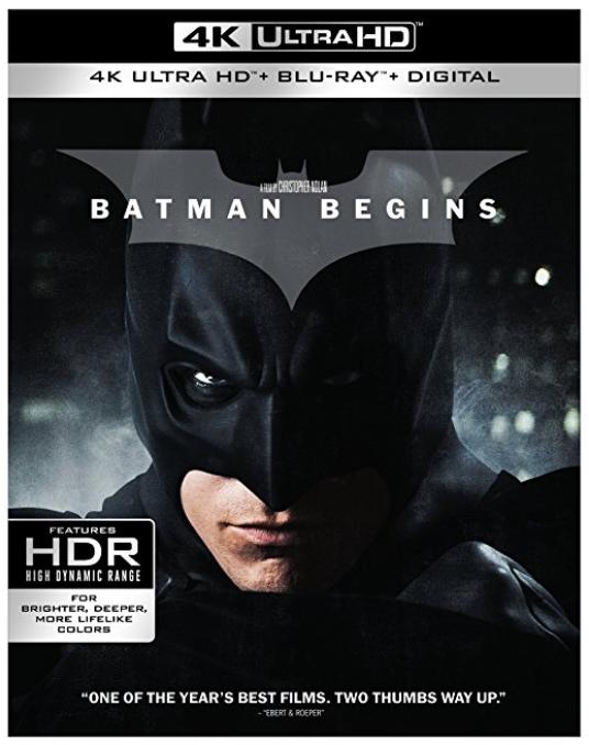 Dark Knight Trilogy (4k Ultra HD + Blu-Ray + Digital HD) - $49.99 + Free Shipping