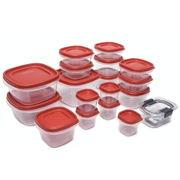 Walmart has Rubbermaid Food Storage Container 36 Piece Set for 6 in