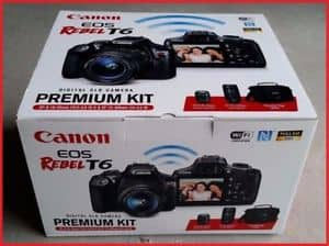 Canon T6 premium kits only $299 at Fry's Electronics B&M
