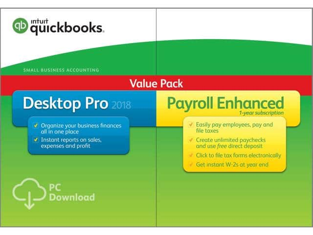 Intuit quickbooks desktop pro with enhanced payroll 2018 download intuit quickbooks desktop pro with enhanced payroll 2018 download 18999 ac 18999 fandeluxe Choice Image