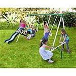 Sportspower Live Oak Metal Swing and Slide Set  $132.00 + fs @walmart.com