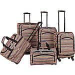 American Flyer Gold Coast 5-Piece Luggage Set $189.99 + fs @ebags.com