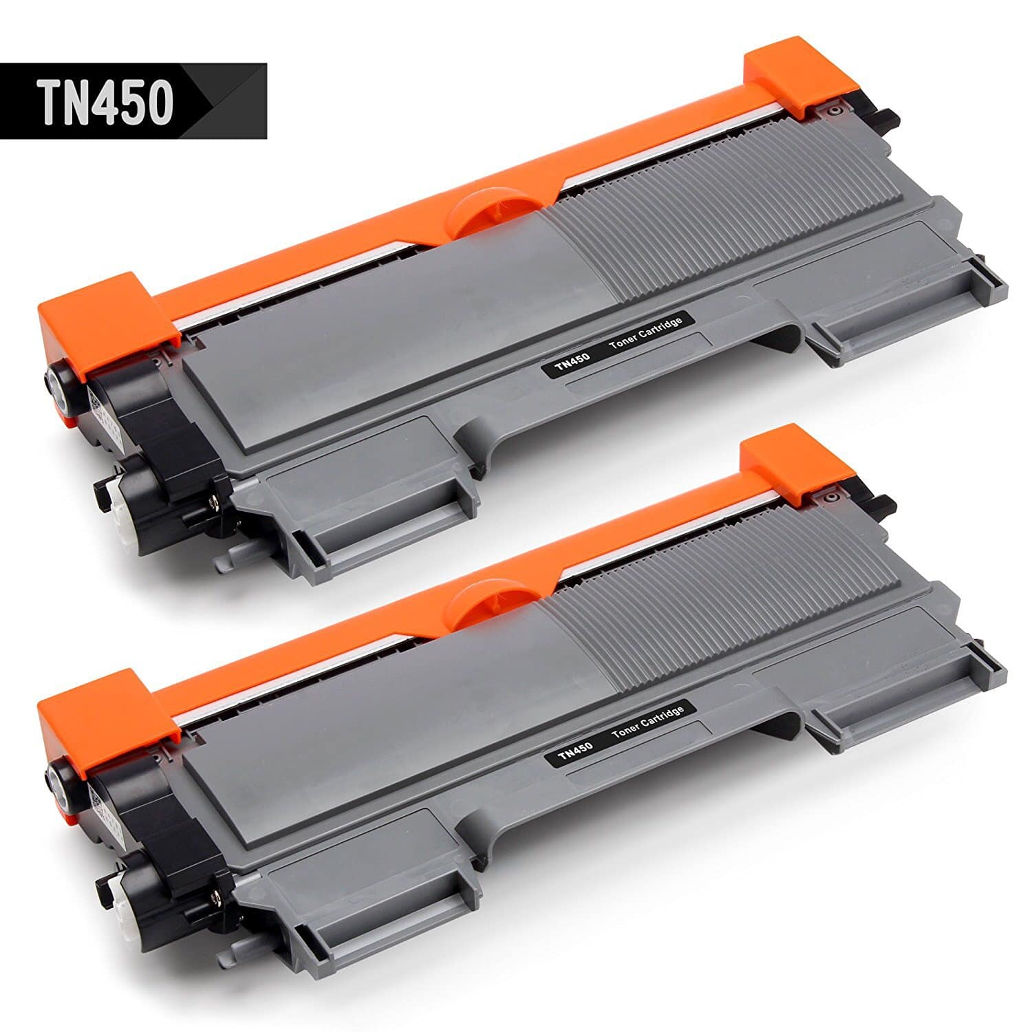 2-Pk IKONG Compatible Brother TN450 TN660 Toner Cartridges (Black