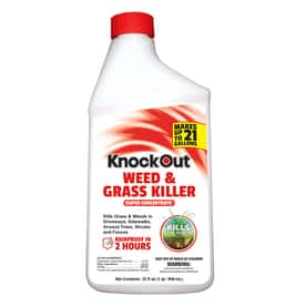 KnockOut Concentrate Weed & Grass Killer- 32 oz. 75% off at Lowes. YMMV $3.99