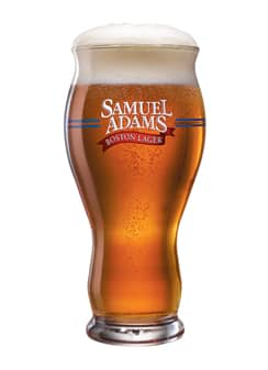 Samuel Adams Boston Lager Perfect Pint Glass Set of 2 $13 shipped AC