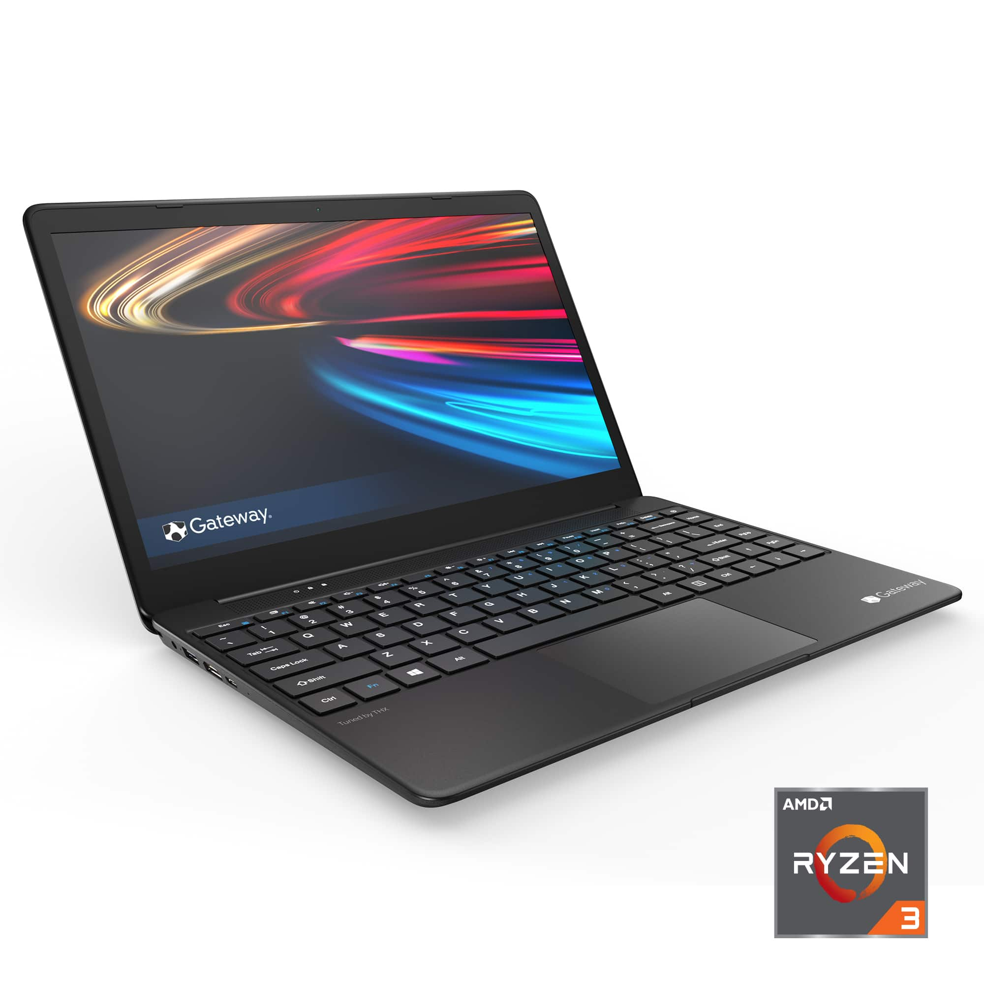 """Gateway 14.1"""" FHD Ultra Slim Notebook, AMD Ryzen 3 3200U, 4GB RAM, 128GB SSD $349.99"""