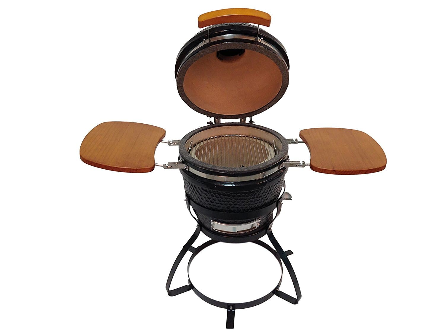 BEACON Ceramic Grill, Black with Side Folding Trays & Metal Stand $229.99