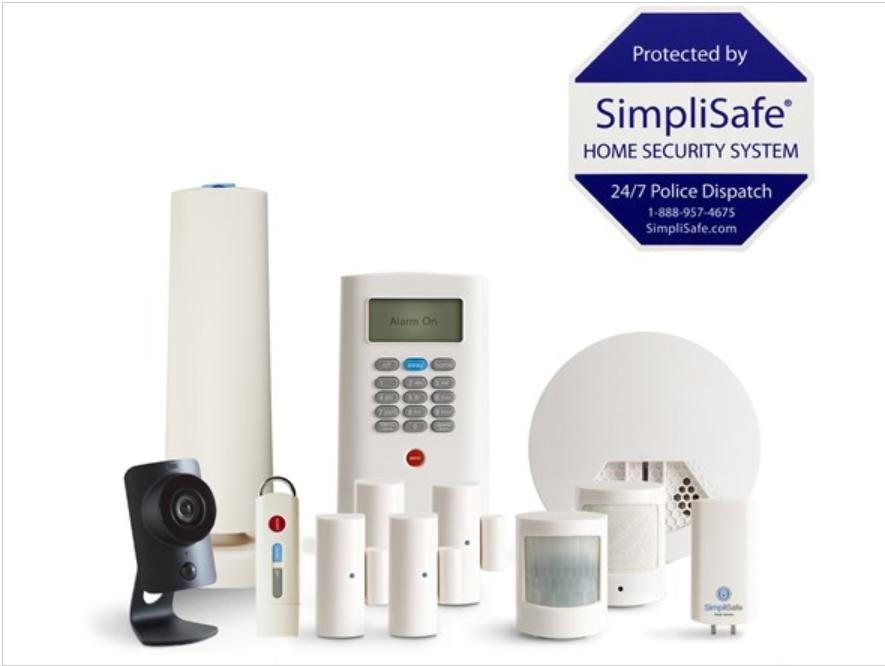 SimpliSafe Alarm System (Open Box) $249.97