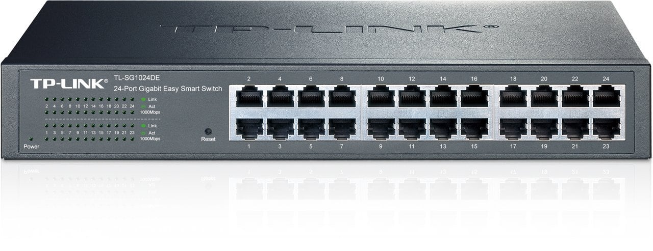 TP-Link 24-Port Gigabit Ethernet Easy Smart Managed Switch $90