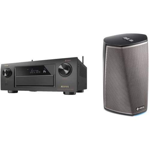 Denon AVR-X6300H + HEOS 1 Series 2 Wireless Speaker $1,478 @ B&H