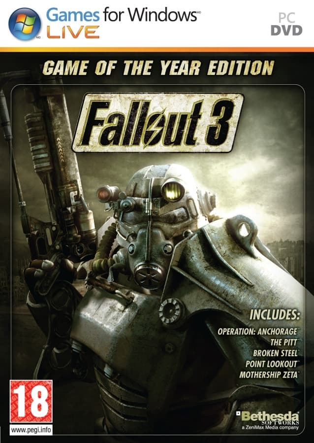 Fallout 3: Game of the Year Edition - $3.56