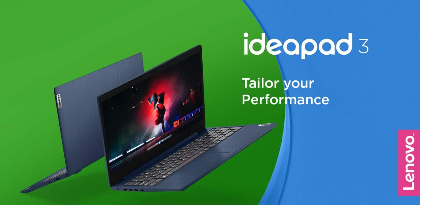 "Lenovo IdeaPad 3 15"" Laptop, Intel Core i3-1005G1 Dual-Core Processor, 8GB Memory, 256GB Solid State Drive, Windows 10S - Abyss Blue - 81WE008HUS $299"