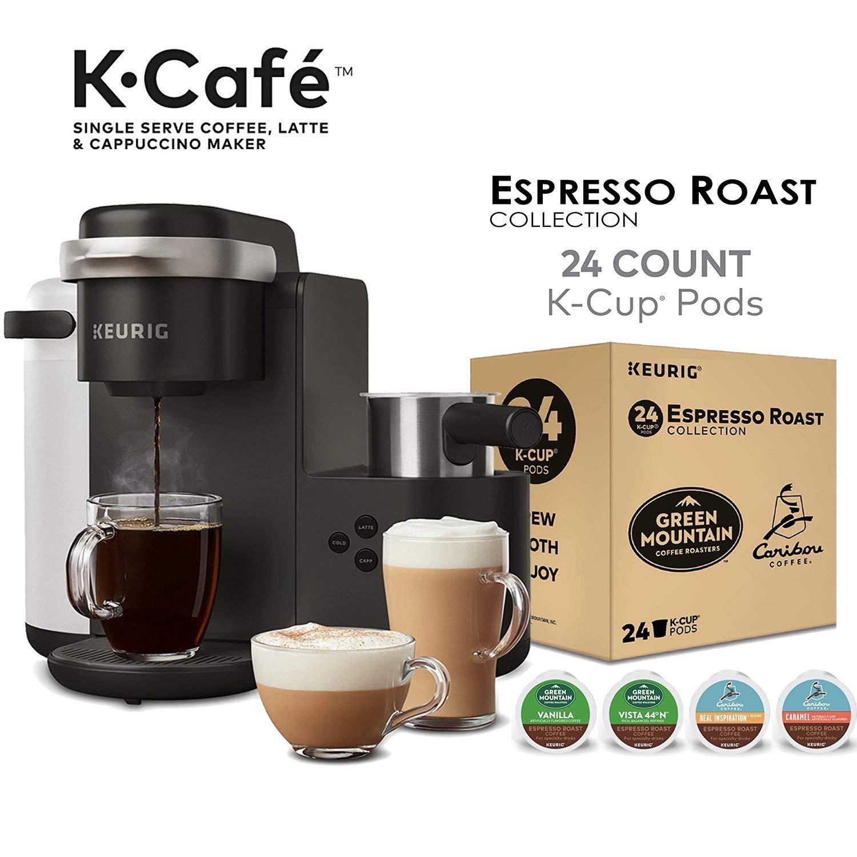 Kuerig K Cafe 24 K Cups Amazon 11499 12128 Slickdealsnet