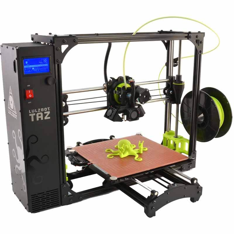 LulzBot TAZ 6 3D Printer @ Fry's $1799.00 (regularly $2500) with 9/28/2017 promo code (in-store or online) through 09/30/2017