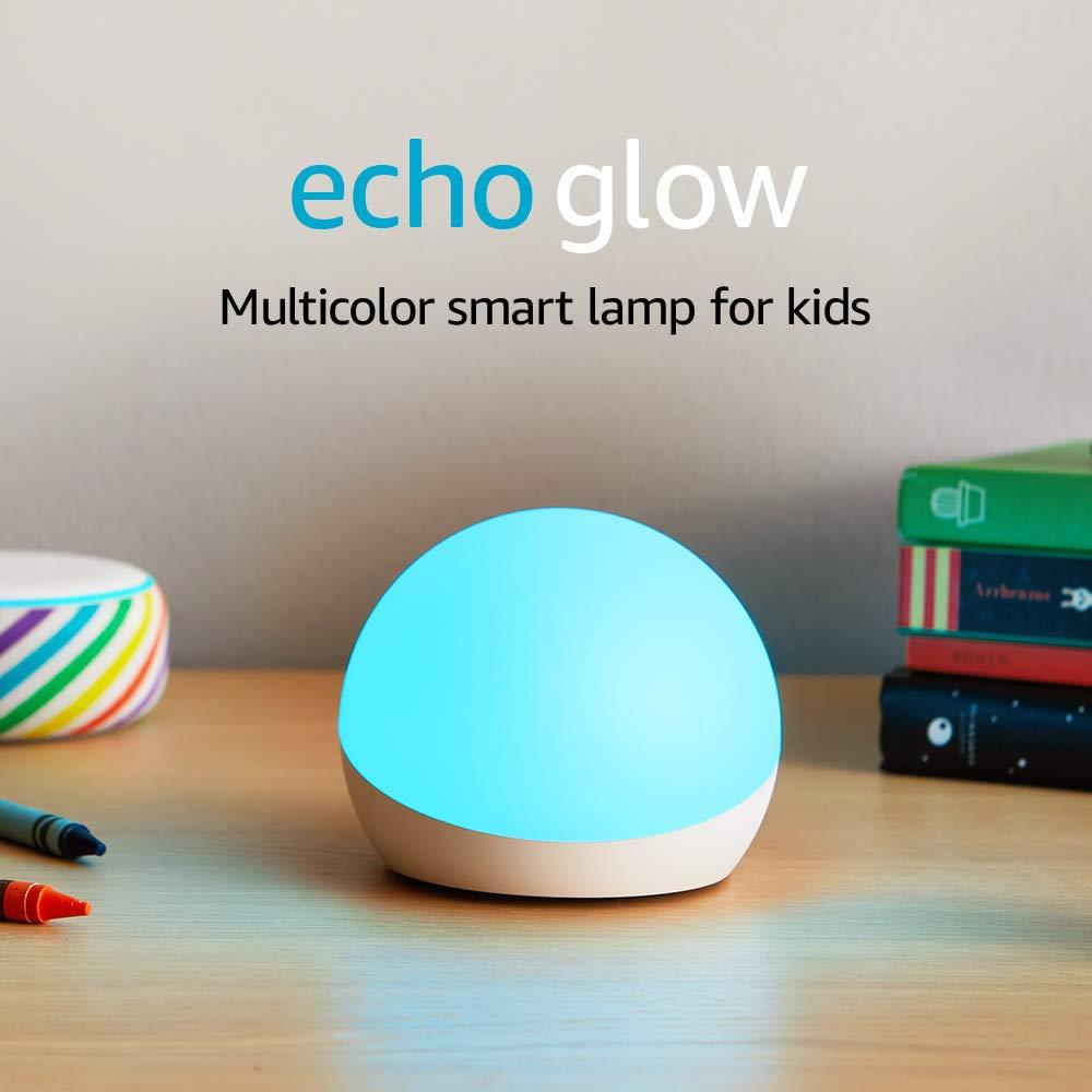 Echo Glow - Multicolor smart lamp for kids - requires compatible Alexa device $4.99