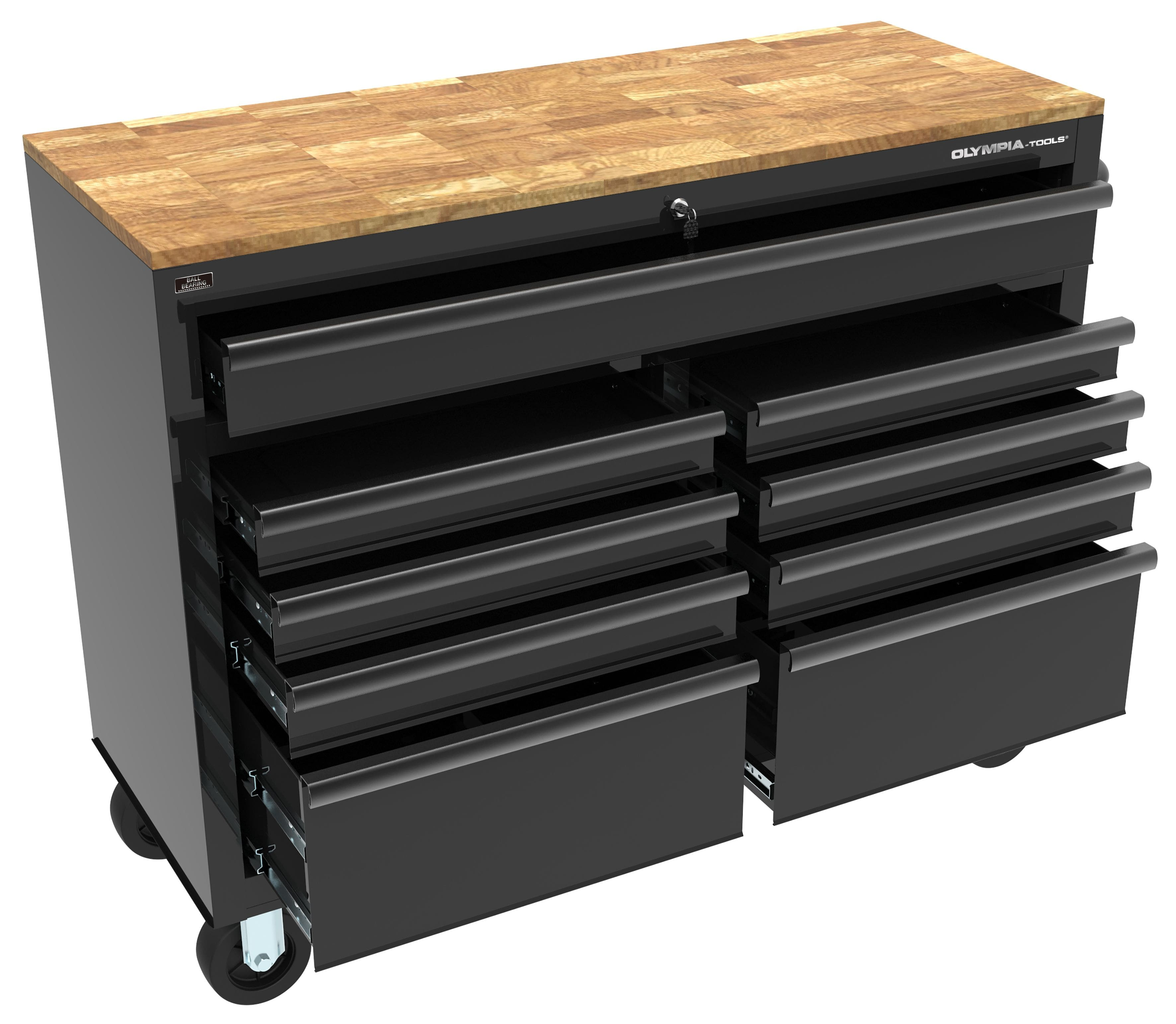 "Olympia 46"" 9 Drawer Tool Chest  $250"