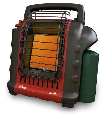 Mr. Heater F232000 MH9BX Buddy 4,000-9,000-BTU Indoor-Safe Portable Radiant Heater $69 Amazon