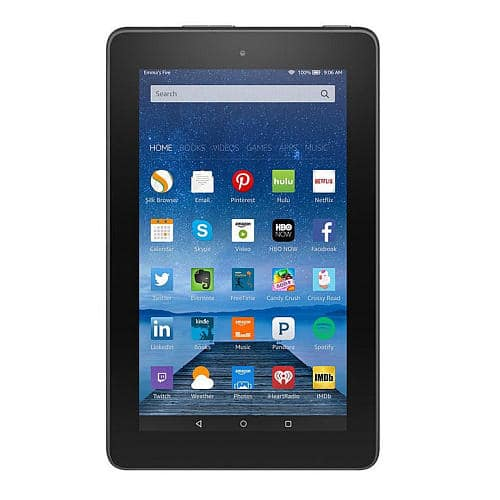 "Amazon Fire 8GB 7"" WiFi Tablet for $40 + free shipping @ Best Buy and Toy ""R""US"
