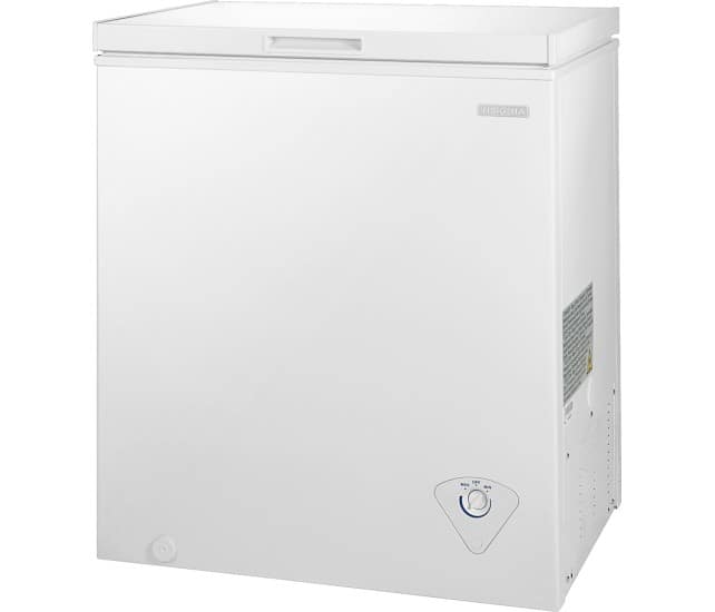 Insignia 5-Cu. Ft. Chest Freezer for $150 + pickup @ Best Buy