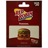 $50 Red Robin Gift Card for $40 @ Amazon