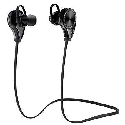 Hopday Bluetooth Earphones: Bluetooth 4.0 Noise Cancelling Earphones $8 @ Amazon