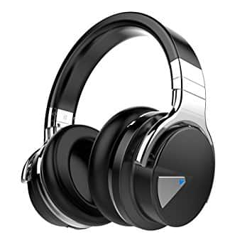 Lightning Deals 47%:COWIN E7 Active Noise Cancelling Bluetooth Headphones with Microphone for $49.69 @Amazon $50