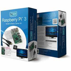 MCM Raspberry Pi™ 3 Model B Media Center - $48 [ Signup for Fry's Promo code ]