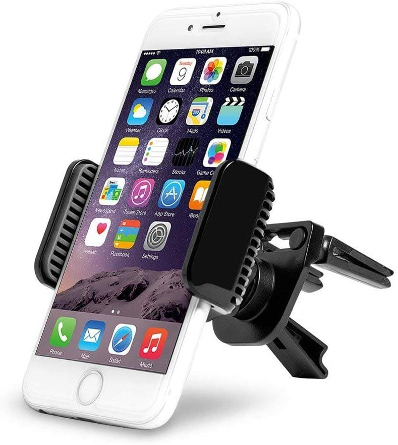Car Mount Universal Air Vent Cradle, Universal Phone Holder Hands Free Cradle Compatible for $8.99@amazon