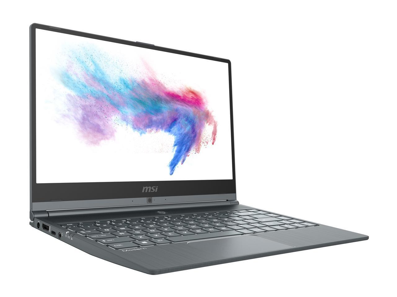 MSI Laptop Modern 14 A10RAS-1031 Intel Core i5 10th Gen 10210U (1.60 GHz) 8 GB Memory 512 GB NVMe SSD for $549 AR+FS@NEWEGG